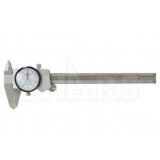 """6"""" Dial Caliper .001"""" Premium Series with ANAB Accredited ISO17025 Certificate"""
