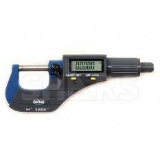 """0-1"""" Solid Metal Frame Electronic Outside Micrometer"""