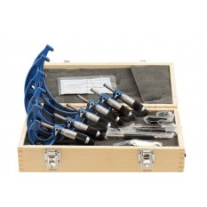 "0-6"" Solid Metal Frame Micrometer Set"