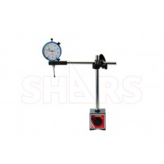 """Magnetic Base W/ 1"""" Dial Indicator"""