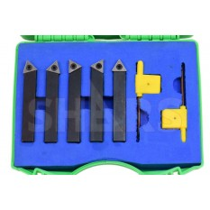 "1/2"" Indexable Carbide Turning Tool Set"