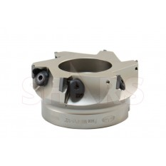 """4"""" 90 Degree Square Shoulder Indexable Face Mill TPG Insert"""
