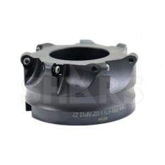 """4"""" Round Indexable Face Mill RPMT Insert"""