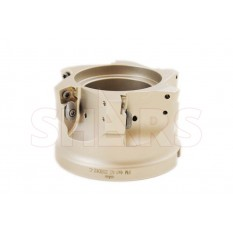 """4"""" Coolant Thru High Feed Indexable Face Mill for SDMT Insert"""