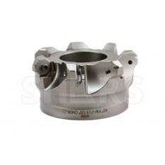 """4"""" 45 degree Indexable Face Mill for ONHU 16 Cutting Edge Insert"""