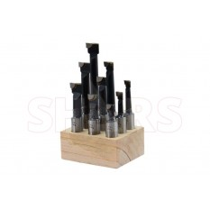 "1/2"" C-6 Carbide Tipped Boring Bar Set"
