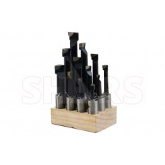"3/4"" C-6 Carbide Tipped Boring Bar Set"