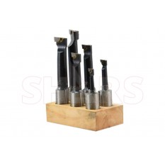 "1"" C-6 Carbide Tipped Boring Bar Set"