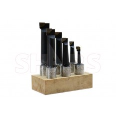 "1"" C-2 Carbide Tipped Boring Bar Set"