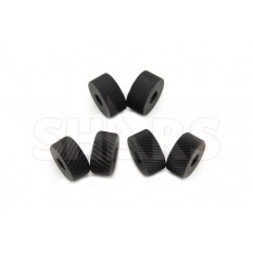 Diamond Coarse Medium Fine 3 Pairs HSS Knurling Wheel