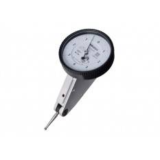 "Mitutoyo .016"" 20° Tilted White Horizontal Dial Test Indicator .0001"""