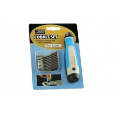 NOGA NG8250 21 PCS Heavy Duty Cobalt Deburring Tool Set