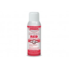 Dykem 80096 Red Layout Fluid 16 Ounce Aerosol Can