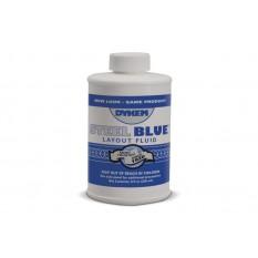 Dykem 80400 Blue Layout Fluid 8 Ounce Brush Top Can