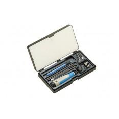 NOGA NG9300 11 Pcs Silver Unikit Deburring Tool Set