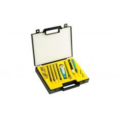 NOGA NG9400 21 Pcs Gold Box Deburring Tool Set
