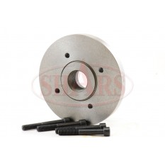 "6.3"" Fully Machined Threaded Back Plate with M39*4 TPI for 4 Jaw Independent Lathe Chuck"
