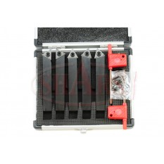 """1/2"""" Indexable Carbide Turning Tool Set"""