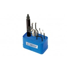 NOGA SP1007 7 PCS High Speed Steel Hand Deburring Tool Set