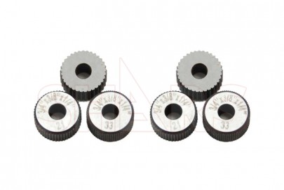 1x Straight Knurling Lathe Turning Wheel Forming Fine Course Metal Work Tool