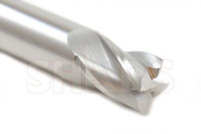 "0.024/"" Diameter 4 Flute Single End ALTiN Coated Square End Carbide End Mill USA"